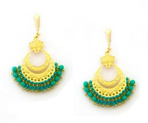 beauty, craft, and earings image