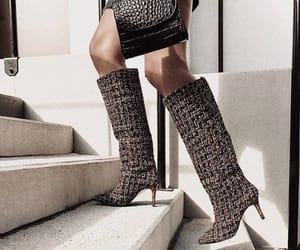 heels, boots, and fashion image