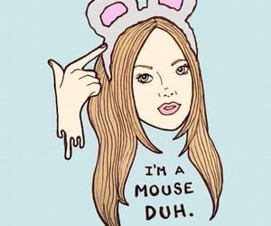 mean girls, mouse, and funny image
