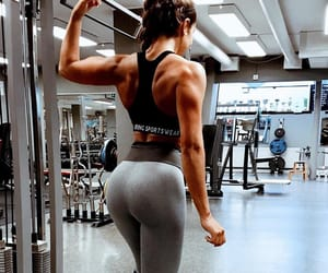 back, butt, and gym image