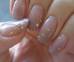 nails, stars, and aesthetic image