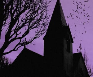 church, dark, and Halloween image