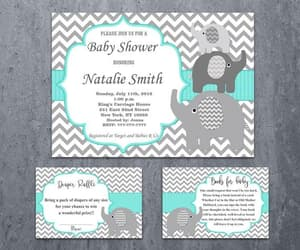 etsy, baby shower invites, and girl games image