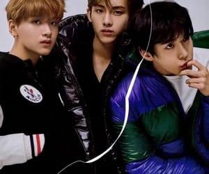 haechan, doyoung, and winwin image