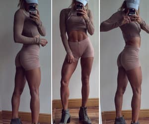 abs, butt, and fashion image