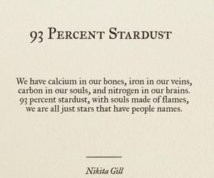 quotes, stardust, and poetry image