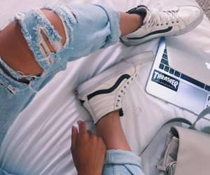 style, shoes, and vans image