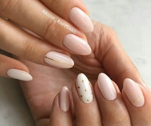 nails and girl image