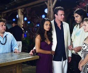 forgetting sarah marshall, russell brand, and jason segel image