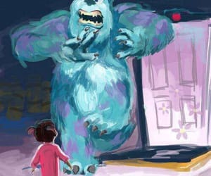 boo, disney, and sully image