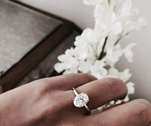ring, fashion, and flowers image