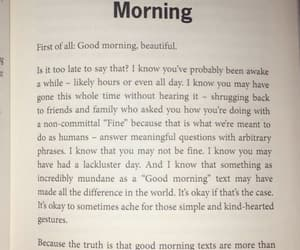 morning, word, and quotes image