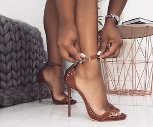 fashion, girly style, and tumblr heels image