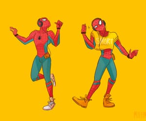 adorable, Marvel, and spiderman image