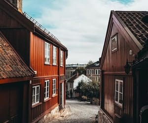 Houses, norway, and oslo image