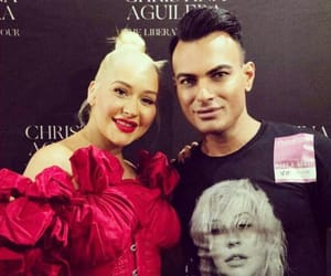 christina aguilera, fan, and washington image