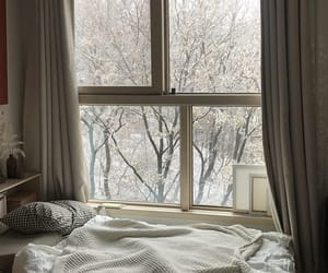 aesthetic, window, and winter image