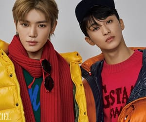 mark, nct, and taeyong image