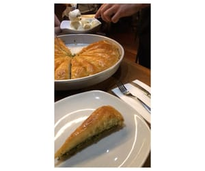baklava, istanbul, and tea image