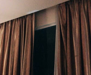 aesthetic, curtain, and hotel room image