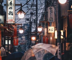 city, japan, and aesthetic image