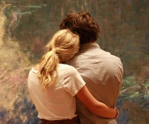 beautiful couple, art museum, and hoals image