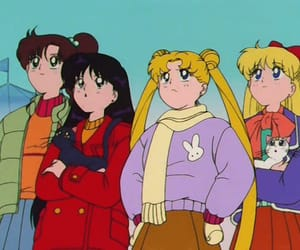 sailor moon and cute image