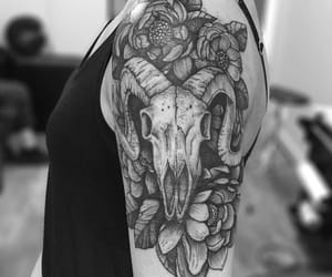 aries, pretty, and tattoo image