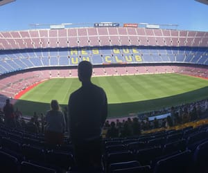 Barcelona, him, and soccer image