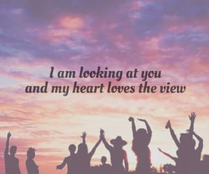 clouds, quotes, and love image