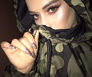 eyes, girl, and highlighter image