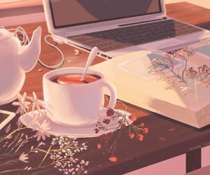 animation, gif, and autumn image