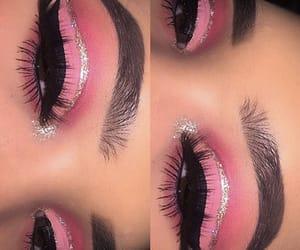 beauty, natural, and eyebrows image