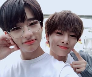 hyunjin, stray kids, and jeongin image