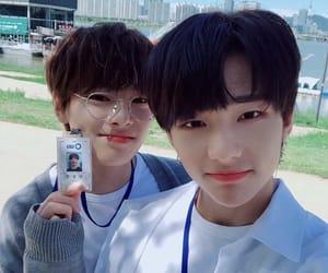 stray kids, hyunjin, and jeongin image