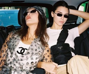 model, kendall jenner, and bella hadid image