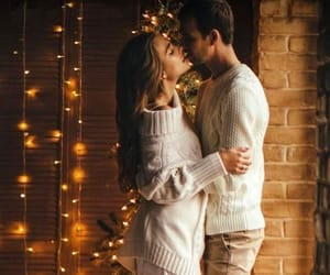 couple, romance, and kiss image