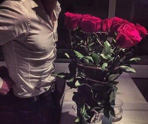 rose, gentleman, and man image