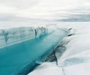 aqua, blue, and snow image