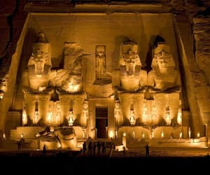 ancient egypt, Temple, and abu simbel image