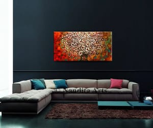 abstract art, etsy, and flowerart image