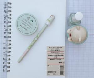 Muji, notebook, and notes image