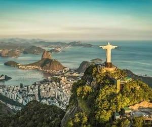 brasil, cidade maravilhosa, and cristo redentor image