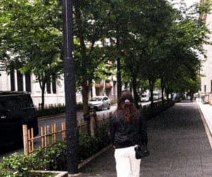 city, green, and walk image