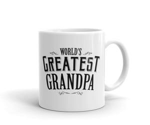 etsy, mug for grandpa, and pregnancy reveal mug image
