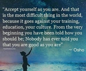 quote and osho image
