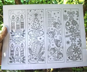 bible verses, pattern coloring, and coloring bookmarks image