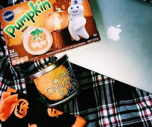 autumn, candles, and Cookies image