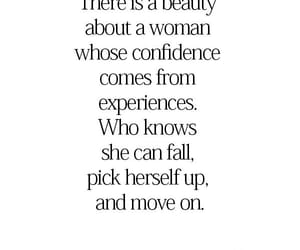 confidence, move on, and quote image