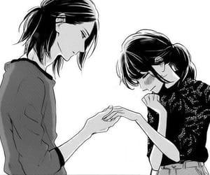 manga, couple, and sensei image